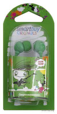 Наушники SmartBuy COLOR TREND (Green)