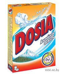"""Стиральный порошок для ручной и автоматической стирки DOSIA Active 3 """"Альпийская свежесть"""" (365 г)"""