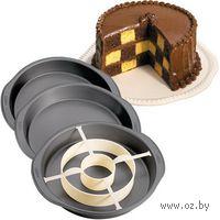 """Набор для выпекания """"Шашки"""" (4 предмета; арт. WLT-2105-9961)"""