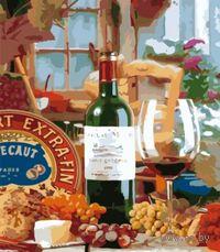 """Картина по номерам """"Вкус вина"""" (500x650 мм; арт. MMC066)"""