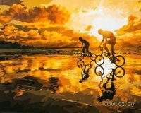 "Картина по номерам ""Велопробег на закате"" (400x500 мм; арт. MG553)"