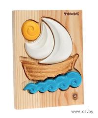 """Пазл-рамка деревянный """"Кораблик"""""""