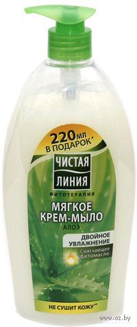 """Мягкое крем-мыло """"Двойное увлажнение"""" (750 мл)"""