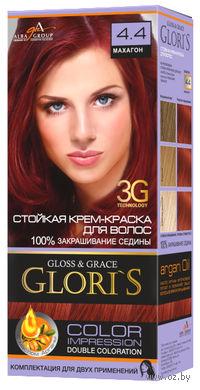 Крем-краска для волос (тон: 4.4, махагон, 2 шт)
