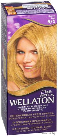 """Стойкая крем-краска для волос WELLATON """"9/1-Жемчуг"""""""