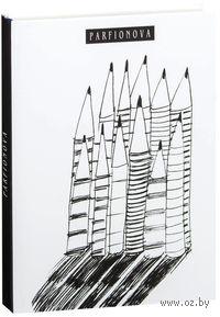Блокнот для записей. 12 карандашей