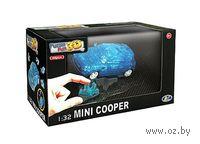 "Пазл ""3D Puzzle. Mini Cooper полупрозрачный синий"" (64 элемент)"
