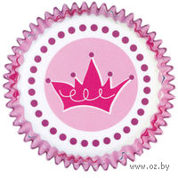 """Набор форм бумажных для выпекания кексов """"Принцесса"""" (75 шт; арт. WLT-415-1142)"""