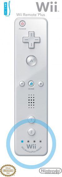 Пульт Wii Remote Plus (белый)