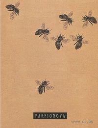 Блокнот для записей. Пчелы на работе