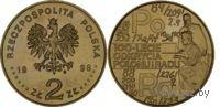 2 злотых - 100-летие открытия Радия и Полония