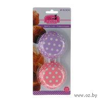 Набор форм бумажных для выпекания кексов, 100 шт (5 см)