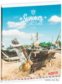 """Тетрадь в клетку """"Summer. Cool Time"""" (96 листов)"""