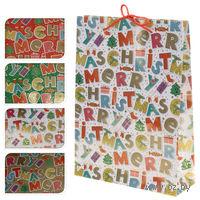 "Пакет бумажный подарочный ""Merry Christmas"" (25*8,5*34,5 см, арт. ABD600310)"