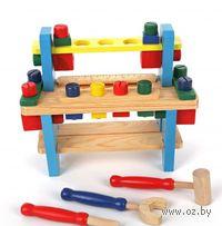 """Развивающая деревянная игрушка """"Верстак 1"""""""