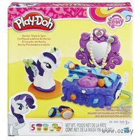 "Набор для лепки ""Play-Doh. Туалетный столик Рарити"""