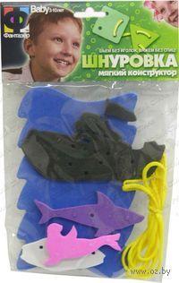 Мягкий конструктор-шнуровка