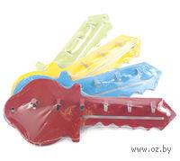 Вешалка для ключей металлическая (25,5х10 см)