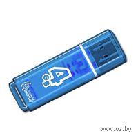 USB Flash Drive 4Gb SmartBuy Glossy series (Blue)