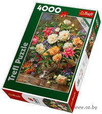 """Пазл """"Цветы для королевы Елизаветы"""" (4000 элементов)"""