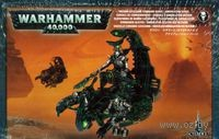 "Набор миниатюр ""Warhammer 40.000. Necrons Catacomb Command Barge/Annihilation Barge"" (49-12)"