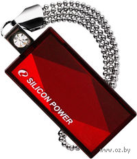 USB Flash Drive 4Gb Silicon Power Touch 810 (Red)
