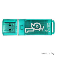 USB Flash Drive 16Gb SmartBuy Glossy series (Green)