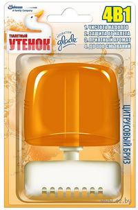 """Подвесной очиститель унитаза Туалетный Утенок """"Цитрусовый бриз"""" (55 мл)"""