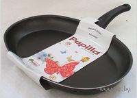 Сковорода алюминиевая с антипригарным покрытием (черная, 34 см)
