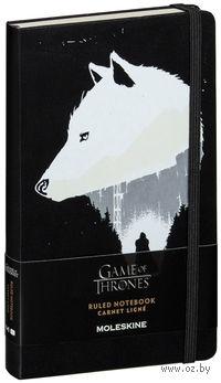 """Записная книжка Молескин """"Game of Thrones"""" в линейку (большая; жесткая обложка)"""