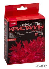 """Набор для выращивания кристаллов """"Лучистые кристаллы. Красный"""""""