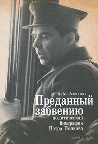 Преданный забвению. Политическая биография Петра Попкова