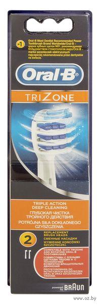 Насадка для электрической зубной щетки Oral-B Trizone EB30 (2 штуки)