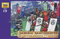 "Набор миниатюр ""Самураи: пехота XVI-XVII веков"" (масштаб: 1/72)"