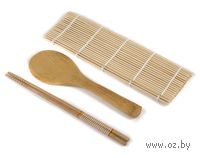 Набор бамбуковый (3 предмета; арт. BB101178)