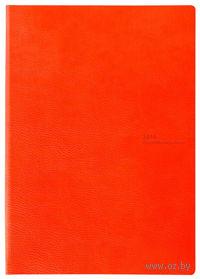 """Ежедневник-еженедельник 2 в 1 """"AVENUE"""", 2016 (210х270 мм; оранжевый)"""
