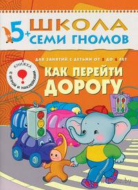 Как перейти дорогу. Для занятий с детьми 5-6 лет. Дарья Денисова