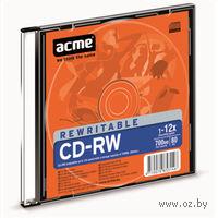 Диск CD-RW 700Mb 4-12х Acme