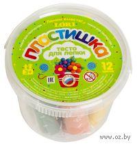 """Тесто для лепки """"Набор №3"""" (12 цветов)"""