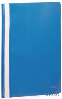 Папка-скоросшиватель с прозрачной обложкой