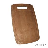 Доска разделочная бамбуковая (28х18х1,5 см)