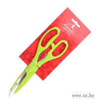 Ножницы кухонные металлические с пластмассовыми ручками (21,5 см, арт. KL42A06)