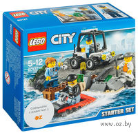 """LEGO City """"Остров-тюрьма Набор для начинающих"""""""