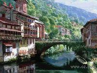 """Картина по номерам """"Древний мост через Нив"""" (400х500 мм)"""