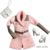 """Одежда для куклы """"Барби. Гламур. Розовая куртка с аксессуарами"""" (арт. CFX95)"""