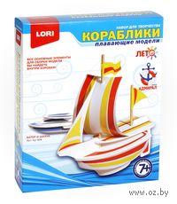 """Набор для изготовления модели корабля """"Катер и шхуна"""""""