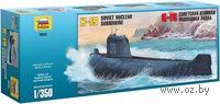 Атомная подводная лодка К-19 (масштаб: 1/350)