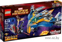 """LEGO. Super Heroes. """"Спасение космического корабля"""""""