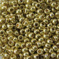 Бисер №18151 (оливковый металлик, перламутровый)