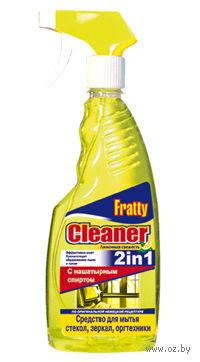 """Средство для мытья стекол и зеркал """"Лимонная свежесть"""" (500 мл)"""